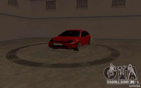 Ford Focus Light Tuning para GTA San Andreas vista traseira