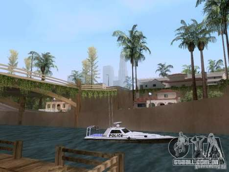 NEW Predator para GTA San Andreas traseira esquerda vista