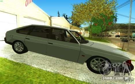 2141 AZLK v 2.0 para GTA San Andreas esquerda vista