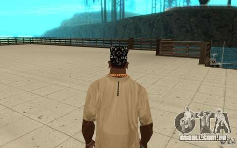 Habilidades de bandana para GTA San Andreas terceira tela