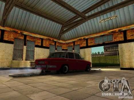 2106 VAZ velho para GTA San Andreas traseira esquerda vista