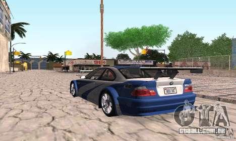 New Groove by hanan2106 para GTA San Andreas sexta tela