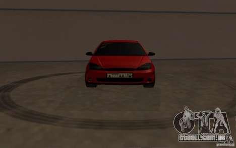 Ford Focus Light Tuning para GTA San Andreas vista interior