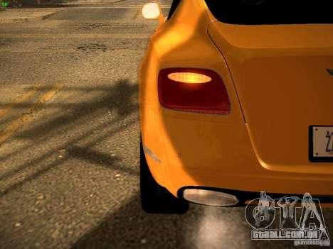 Bentley Continental GT 2011 para vista lateral GTA San Andreas