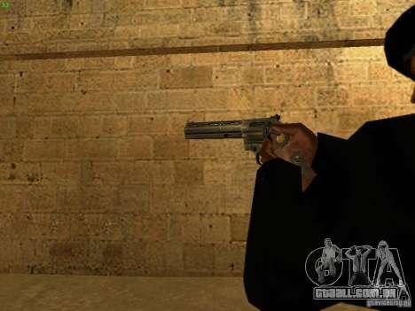 44.Magnum para GTA San Andreas por diante tela