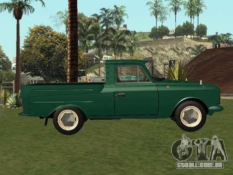 IZH 27151 PickUp para GTA San Andreas esquerda vista