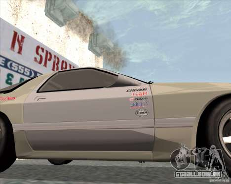 Mazda Savanna RX-7 FC3S para GTA San Andreas vista direita