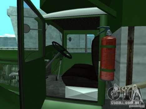 GAZ-AAA para GTA San Andreas vista traseira