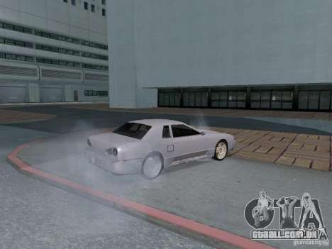 Elegy HD para GTA San Andreas vista interior