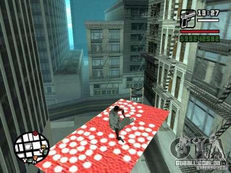 Tapete voador para GTA San Andreas segunda tela