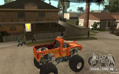 El Toro Loco para GTA San Andreas vista direita
