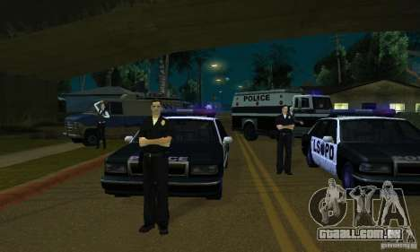 Projeto x na Grove Street para GTA San Andreas sexta tela