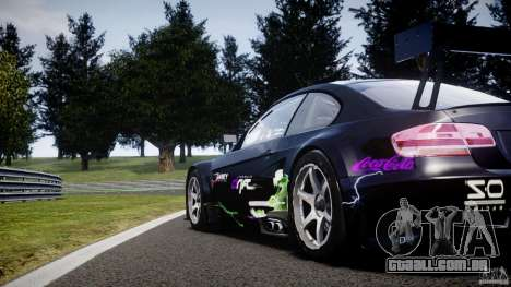 BMW M3 GT2 Drift Style para GTA 4 interior