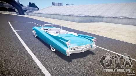 Cadillac Eldorado 1959 interior white para GTA 4 vista direita