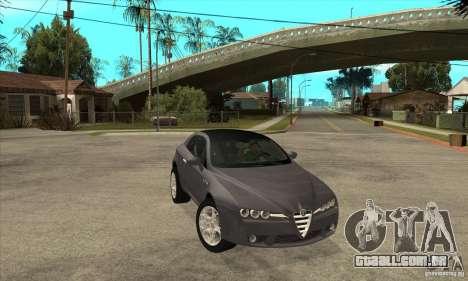 Alfa Romeo Brera de NFSC para GTA San Andreas vista traseira