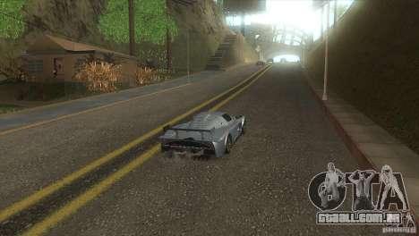 Estrada de qualidade no LS para GTA San Andreas por diante tela