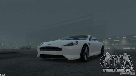 Aston Martin Virage 2012 v1.0 para GTA 4 motor