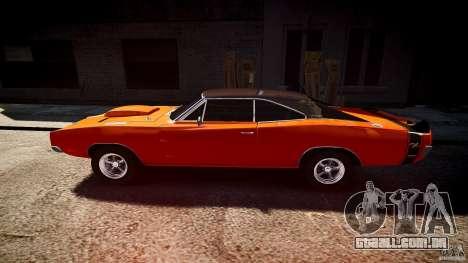 Dodge Charger RT 1969 esportes de v 1.1 tun para GTA 4 esquerda vista