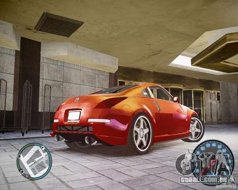 Nissan 350Z Z33 para GTA 4 traseira esquerda vista