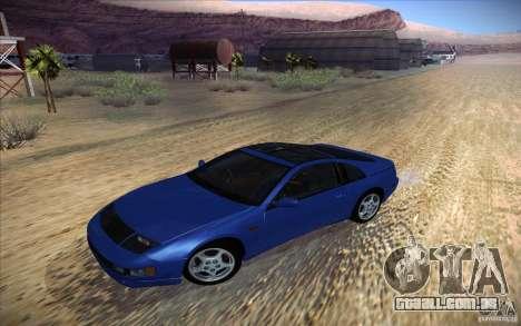 Nissan 300ZX Twin Turbo para vista lateral GTA San Andreas