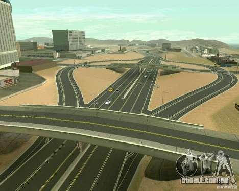 GTA 4 Road Las Venturas para GTA San Andreas décima primeira imagem de tela