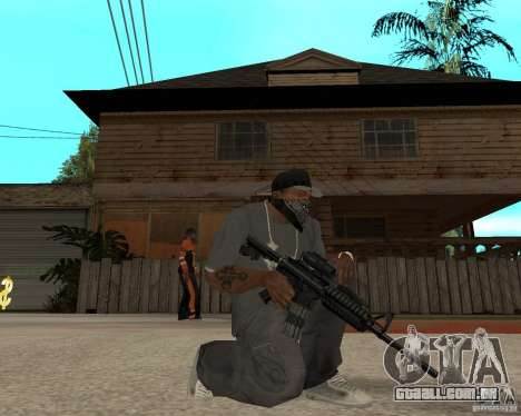 M16 de alta qualidade para GTA San Andreas segunda tela