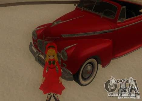 Anime Characters para GTA San Andreas sexta tela