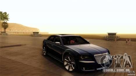 Chrysler 300C V8 Hemi Sedan 2011 para vista lateral GTA San Andreas