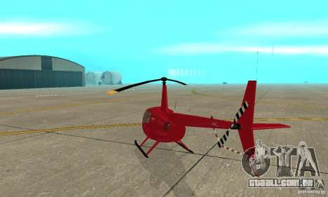 Robinson R44 Raven II NC 1.0 pele 1 para GTA San Andreas vista direita