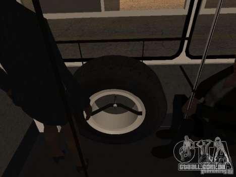 Reboque Ikarusu 280.46 para GTA San Andreas vista traseira