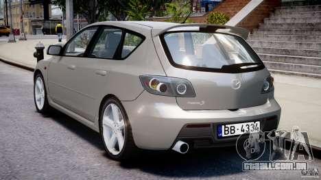 Mazda 3 2004 para GTA 4 vista superior