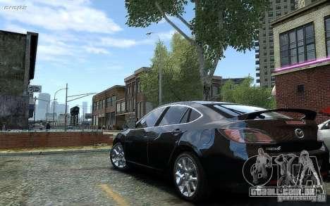 Mazda 6 2008 para GTA 4 esquerda vista
