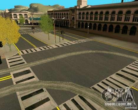 GTA 4 Roads para GTA San Andreas nono tela