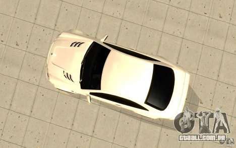 Mercedes-Benz CLK 500 Kompressor para GTA San Andreas vista traseira