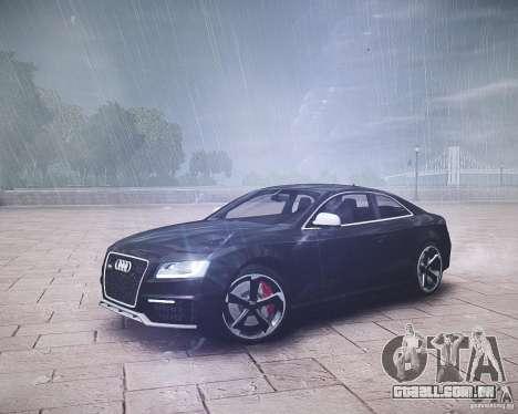 Audi RS5 2010 para GTA 4 traseira esquerda vista