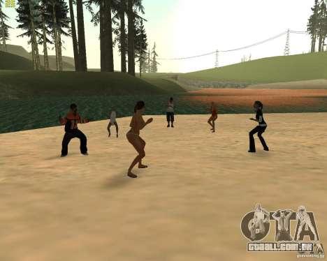 Festa da natureza para GTA San Andreas por diante tela