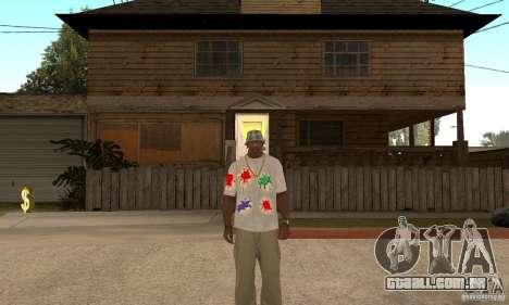 Gotcha Shirt para GTA San Andreas