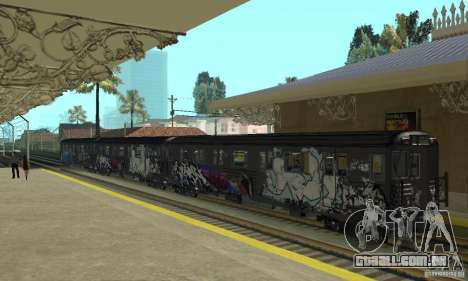 GTA IV Enterable Train para GTA San Andreas