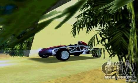 Ariel Atom para GTA San Andreas esquerda vista
