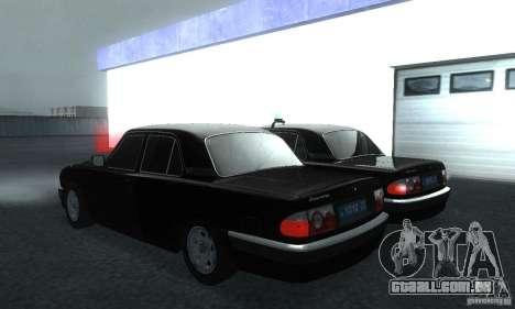 GAZ Volga 31105 advogado para GTA San Andreas esquerda vista
