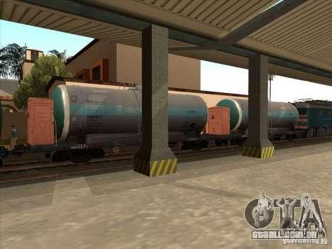 Tanque 57929572 # para GTA San Andreas esquerda vista