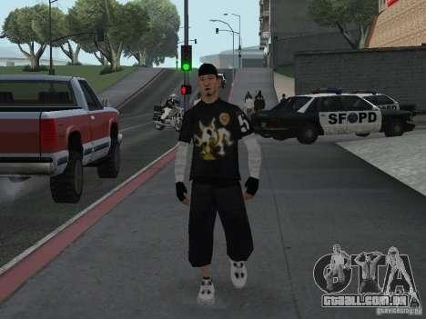 Cops skinpack para GTA San Andreas por diante tela