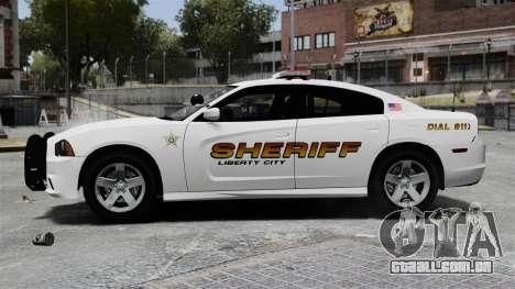 Dodge Charger 2013 Police Code 3 RX2700 v1.1 ELS para GTA 4
