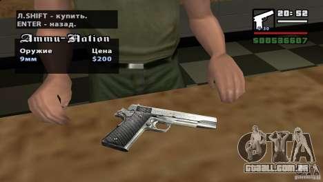 Montagem de HD para GTA San Andreas segunda tela