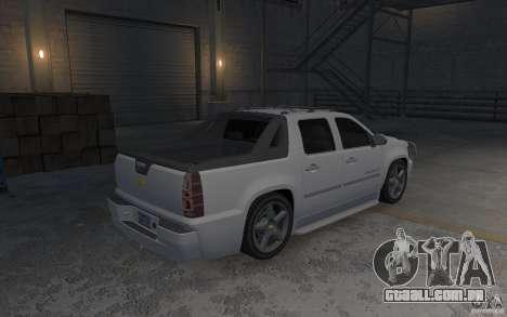 Chevrolet Avalanche v1.0 para GTA 4 vista direita