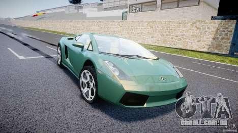 Lamborghini Gallardo para GTA 4 motor