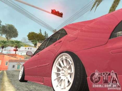 Lexus IS300 HellaFlush para GTA San Andreas vista direita