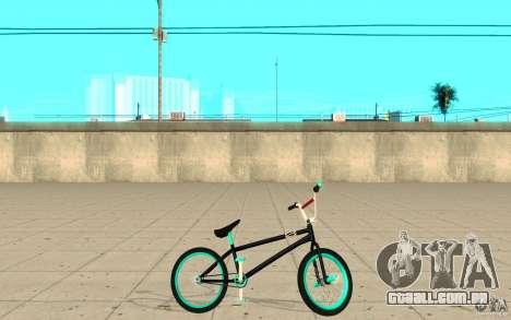 REAL Street BMX mod Black Edition para GTA San Andreas esquerda vista