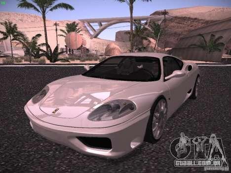 Ferrari 360 Modena para GTA San Andreas