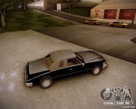 HD Idaho para GTA San Andreas vista interior